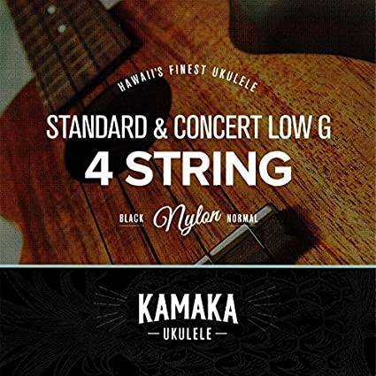 KAMAKA(カマカ)S-1 Standard & Concert 4 strings ウクレレ弦セット