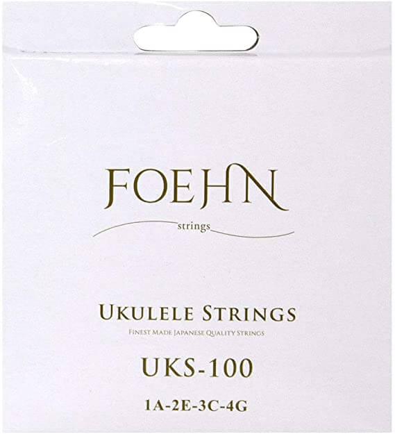 FOEHN(フェーン) UKS-100 ブラックナイロン弦