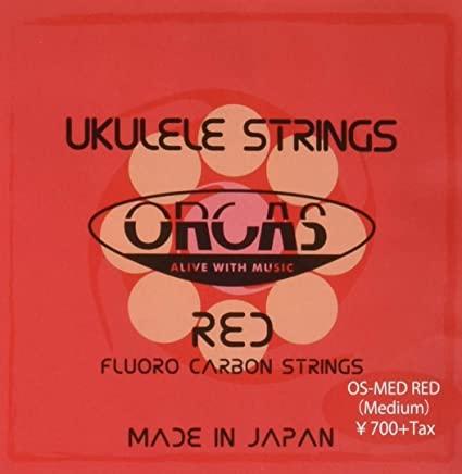 ORCAS OS-MED RED ウクレレ弦