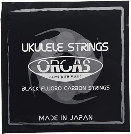 ORCAS(オルカス)Black Fluorocarbon Strings