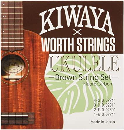 Worth×KIWAYA K-BM フロロカーボン弦 セット(オールサイズ対応)