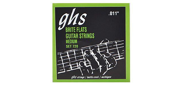 GHSフラットワウンド弦